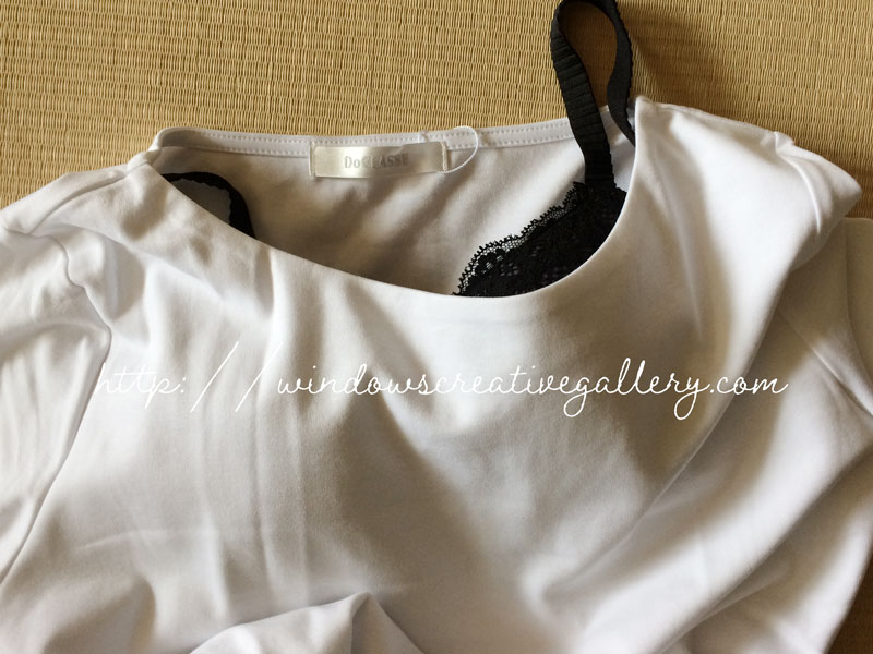 ドゥクラッセTシャツは透けるのか?