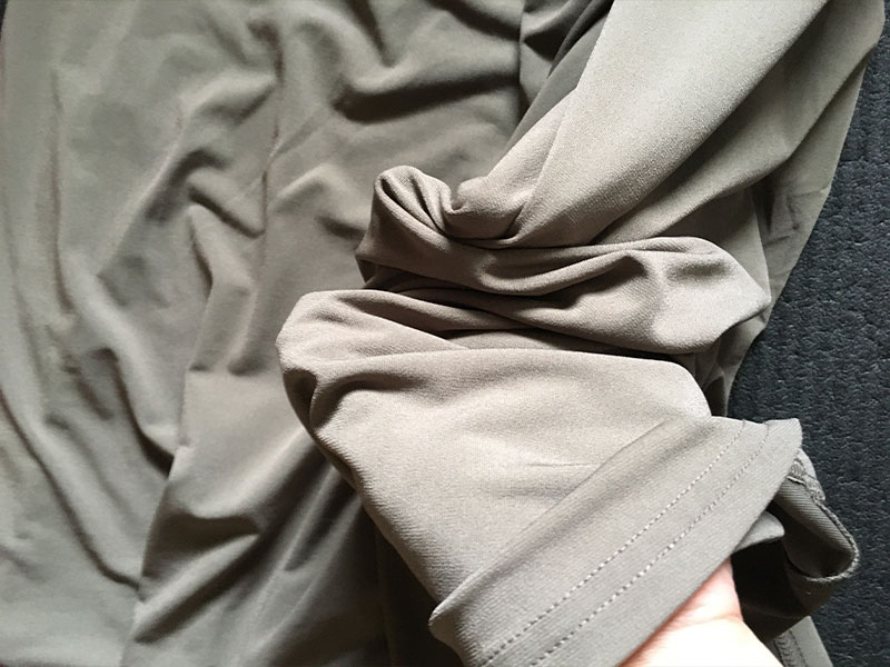 ドレープジャージーAラインスカート